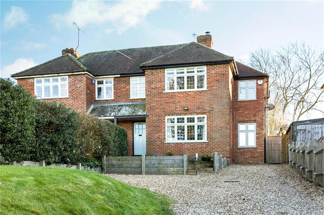 Guide Price £750,000, 3 Bedroom Semi Detached House For Sale in Winchmore Hill, HP7
