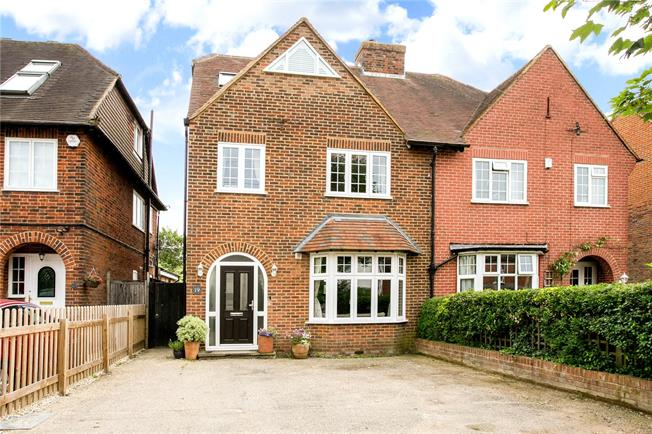 Guide Price £935,000, 4 Bedroom Semi Detached House For Sale in Beaconsfield, HP9