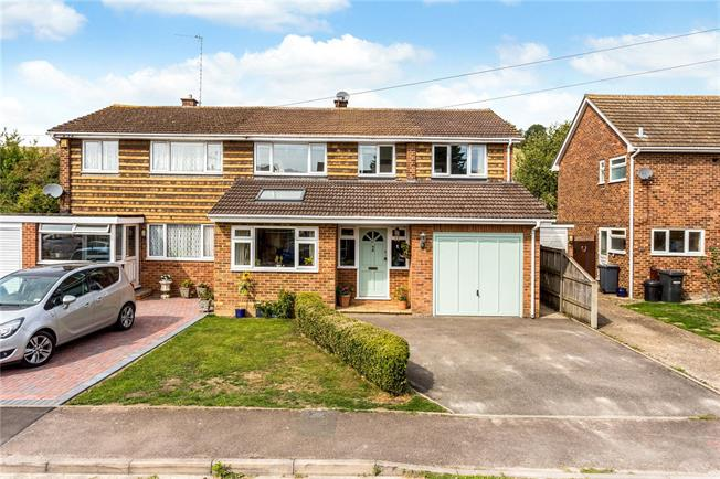 Guide Price £565,000, 4 Bedroom Semi Detached House For Sale in Wooburn Green, HP10