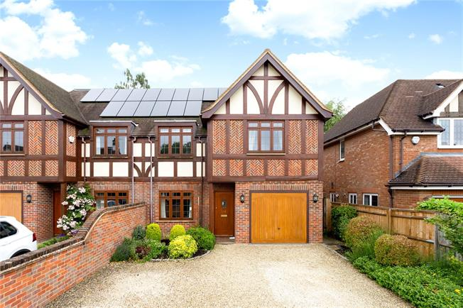 Guide Price £1,150,000, 4 Bedroom Semi Detached House For Sale in Beaconsfield, HP9