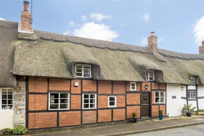 Guide Price £395,000, 2 Bedroom Terraced House For Sale in Pebworth, CV37