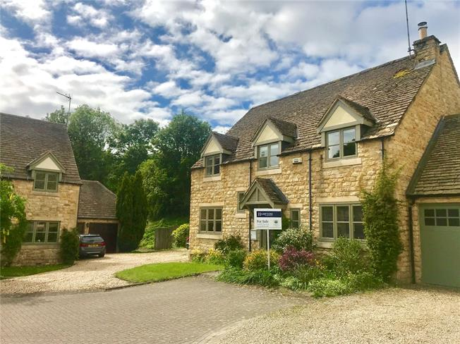 Offers in excess of £475,000, 4 Bedroom Detached House For Sale in Temple Guiting, Cheltenha, GL54