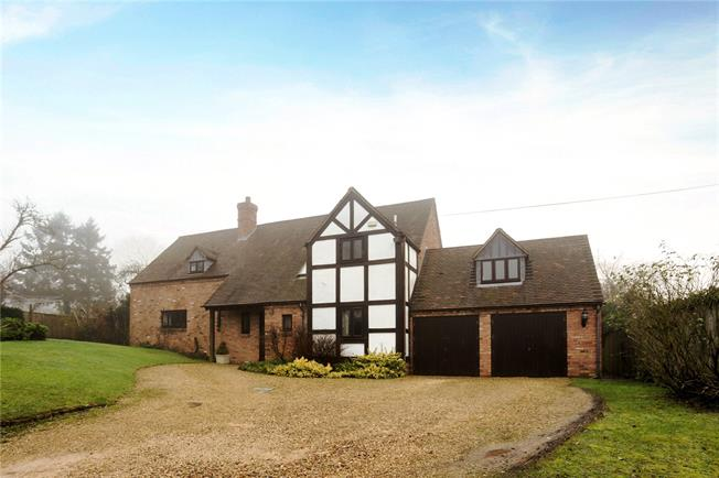 Guide Price £595,000, 4 Bedroom Detached House For Sale in Church Lench, WR11