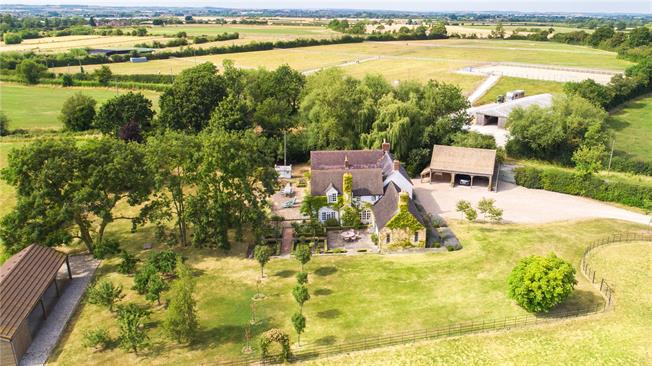 Guide Price £1,800,000, 5 Bedroom Detached House For Sale in Badsey, WR11