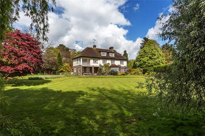 Guide Price £1,900,000, 8 Bedroom Detached House For Sale in Oxted, RH8
