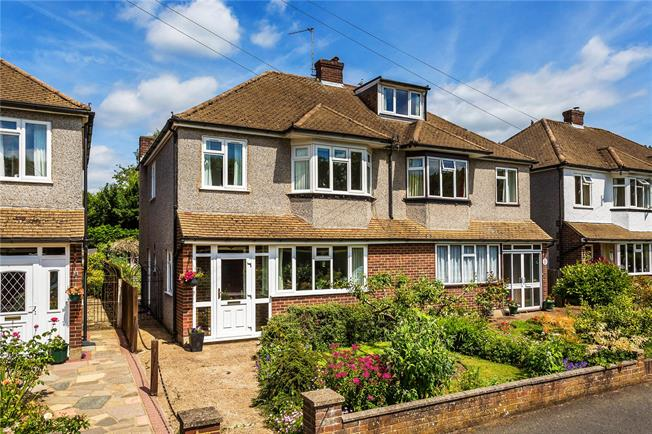 Guide Price £465,000, 3 Bedroom Semi Detached House For Sale in Caterham, CR3