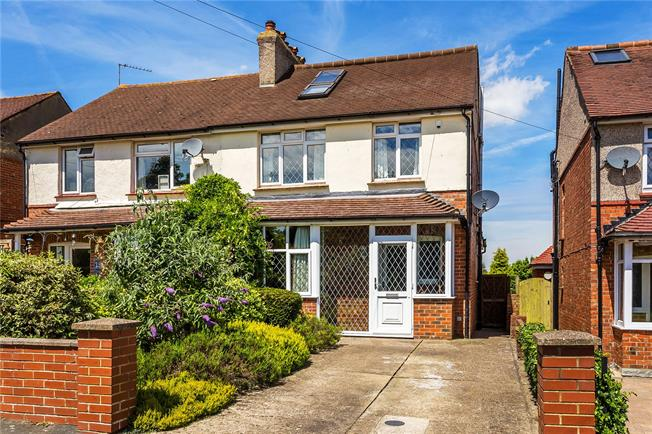 Guide Price £500,000, 4 Bedroom Semi Detached House For Sale in Caterham, CR3