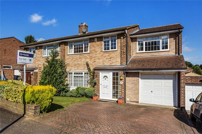 Asking Price £465,000, 4 Bedroom Semi Detached House For Sale in South Croydon, CR2