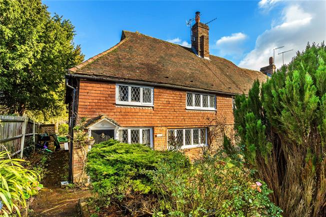 Guide Price £650,000, 3 Bedroom Semi Detached House For Sale in Surrey, RH1