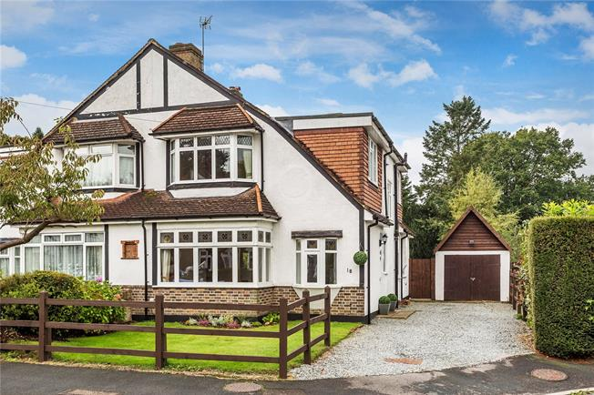 Guide Price £550,000, 3 Bedroom Semi Detached House For Sale in Caterham, CR3