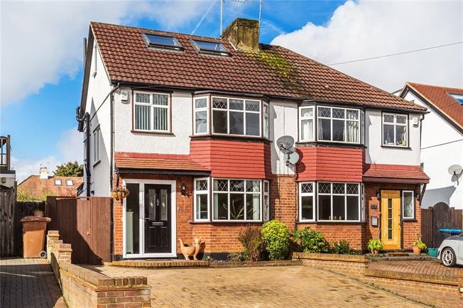 Guide Price £499,950, 3 Bedroom Semi Detached House For Sale in Caterham, CR3