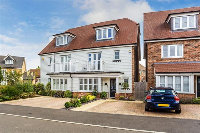 Guide Price £565,000, 4 Bedroom Semi Detached House For Sale in Caterham, CR3