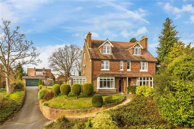 Guide Price £855,000, 4 Bedroom Semi Detached House For Sale in South Nutfield, RH1