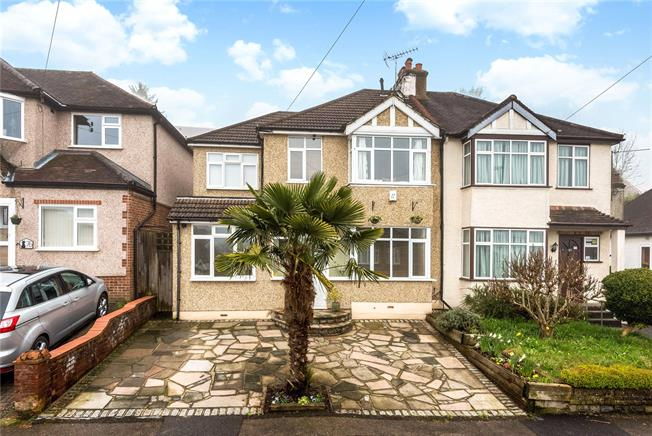 Guide Price £550,000, 4 Bedroom Semi Detached House For Sale in Surrey, CR3