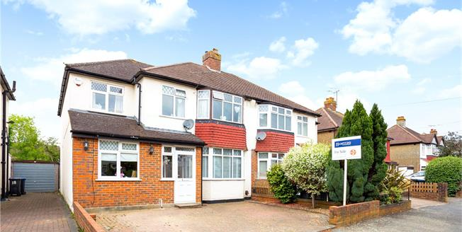 Guide Price £520,000, 5 Bedroom Semi Detached House For Sale in Coulsdon, CR5