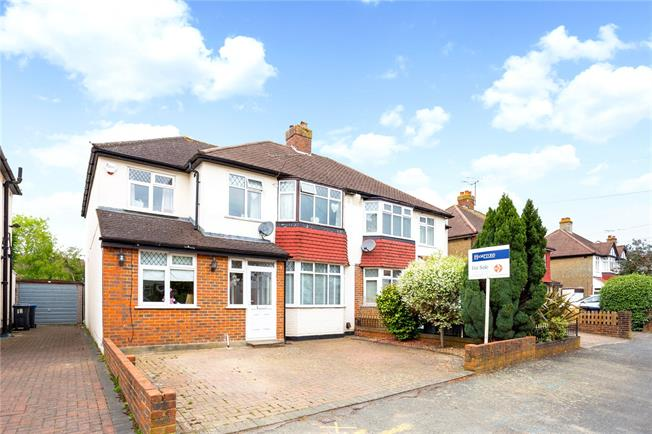 Guide Price £500,000, 4 Bedroom Semi Detached House For Sale in Old Coulsdon, CR5