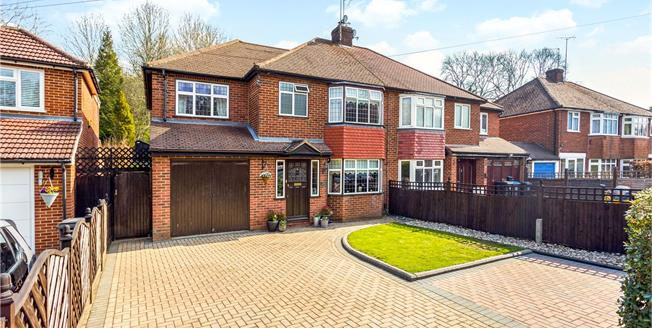 Guide Price £550,000, 4 Bedroom Semi Detached House For Sale in Coulsdon, CR5