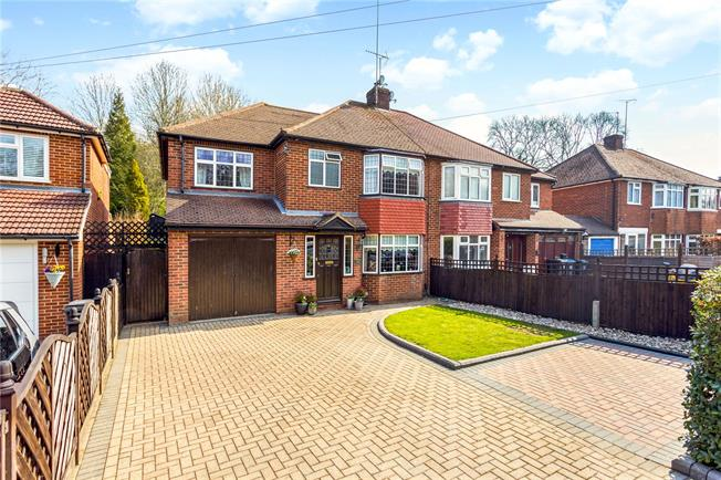 Guide Price £550,000, 4 Bedroom Semi Detached House For Sale in Old Coulsdon, CR5