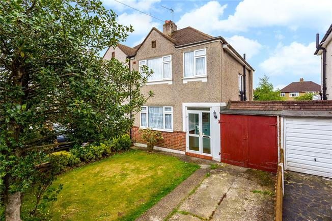 Guide Price £446,000, 3 Bedroom Semi Detached House For Sale in Coulsdon, CR5