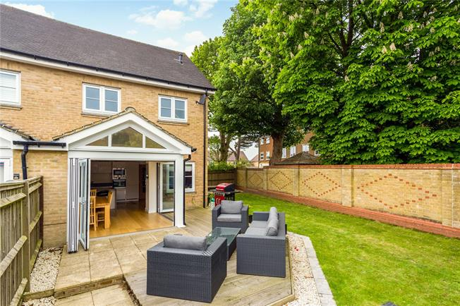 Guide Price £550,000, 3 Bedroom End of Terrace House For Sale in Caterham, CR3
