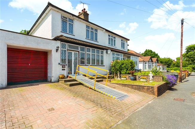 Guide Price £425,000, 3 Bedroom Semi Detached House For Sale in Surrey, CR3