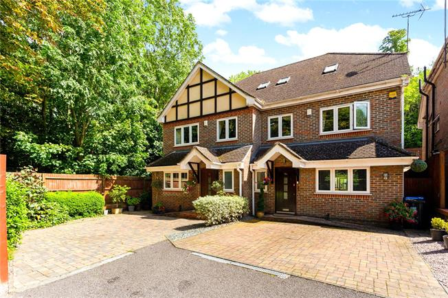 Guide Price £575,000, 4 Bedroom Semi Detached House For Sale in Surrey, CR3