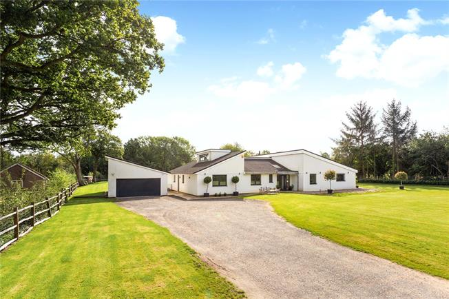 Guide Price £1,400,000, 4 Bedroom Bungalow For Sale in Chaldon, Surrey, CR3