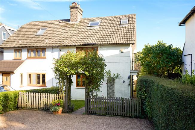 Guide Price £525,000, 3 Bedroom End of Terrace House For Sale in Bletchingley, Surrey, RH1
