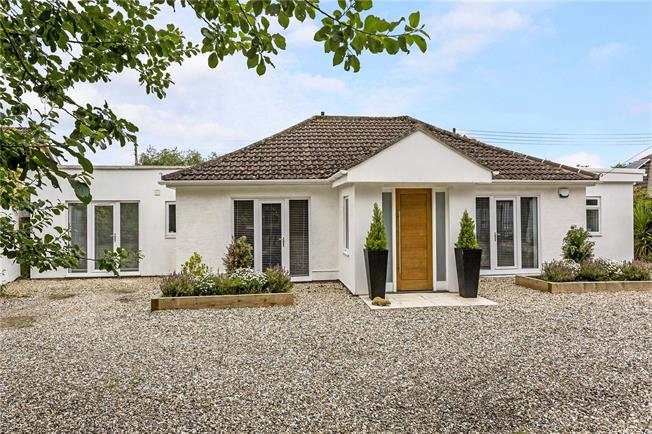 Guide Price £895,000, 4 Bedroom Bungalow For Sale in Shurdington, GL51