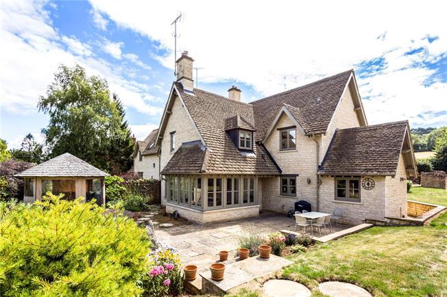 Asking Price £850,000, 3 Bedroom Detached House For Sale in Colesbourne, GL53