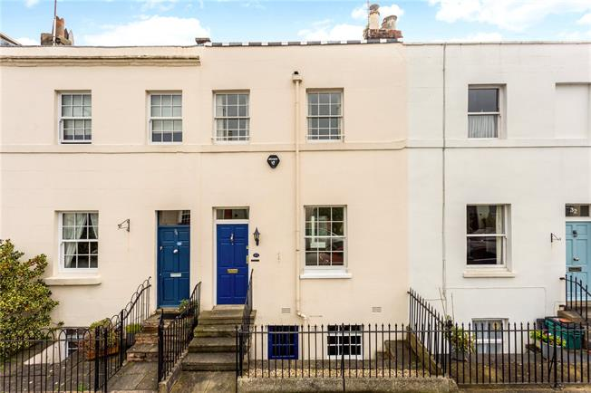 Guide Price £450,000, 2 Bedroom Terraced House For Sale in Cheltenham, Gloucestershi, GL50