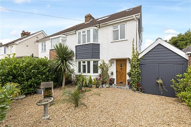 Guide Price £595,000, 5 Bedroom Semi Detached House For Sale in Chichester, PO19