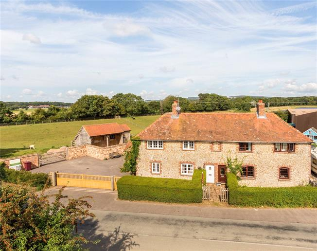 Guide Price £825,000, 3 Bedroom Semi Detached House For Sale in Chichester, West Sussex, PO19