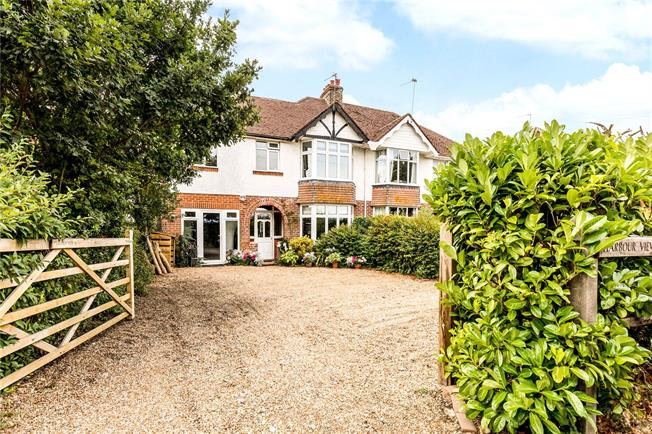 Asking Price £650,000, 5 Bedroom Semi Detached House For Sale in Chichester, West Sussex, PO18