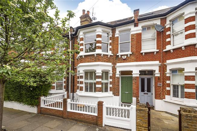 Guide Price £1,235,000, 3 Bedroom Terraced House For Sale in London, W4