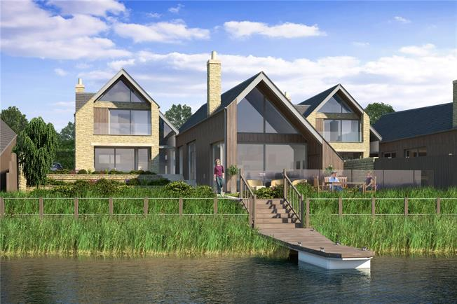 Guide Price £2,800,000, 5 Bedroom Detached House For Sale in South Cerney, Cirencester, GL7