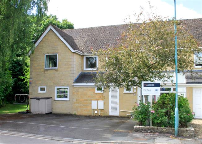 Guide Price £569,000, 4 Bedroom Semi Detached House For Sale in Cirencester, GL7