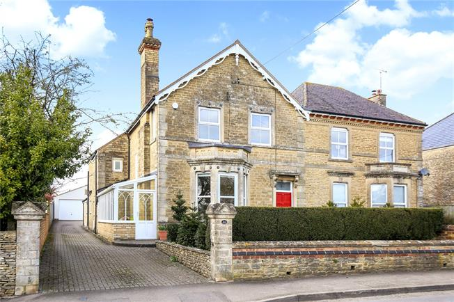 Guide Price £695,000, 4 Bedroom Semi Detached House For Sale in Gloucestershire, GL8