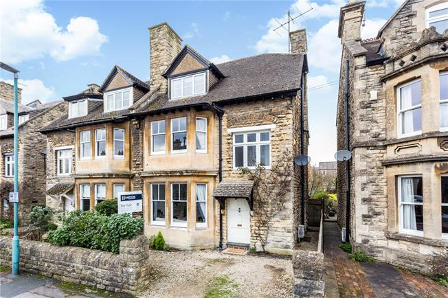 Guide Price £735,000, 5 Bedroom Semi Detached House For Sale in Cirencester, GL7