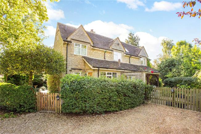 Guide Price £645,000, 4 Bedroom Semi Detached House For Sale in Wiltshire, SN6