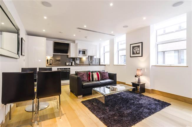 Asking Price £650,000, 1 Bedroom Flat For Sale in London, EC4A