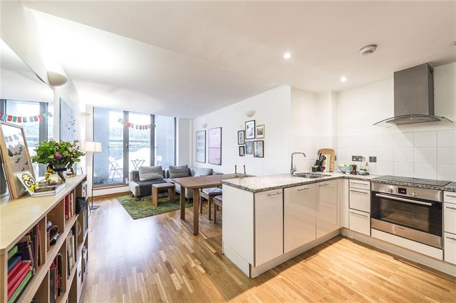 Asking Price £599,950, 1 Bedroom Flat For Sale in Clerkenwell, EC1N