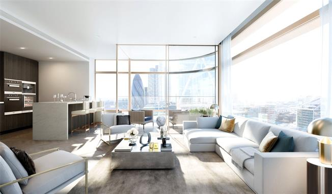 Asking Price £3,115,000, 2 Bedroom Flat For Sale in London, EC2A