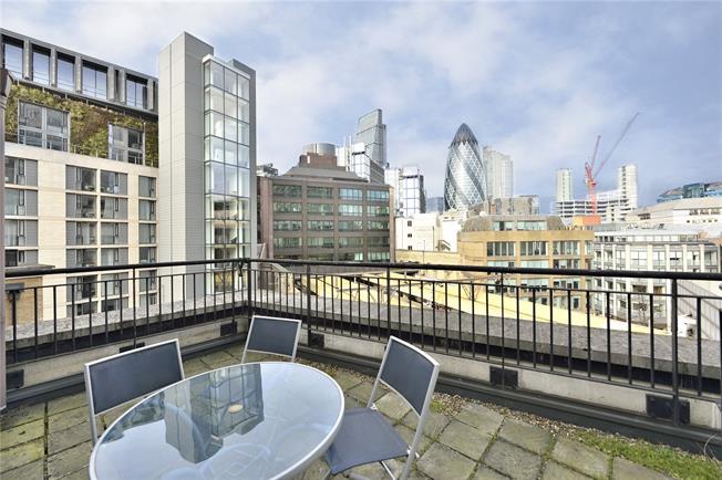 Asking Price £645,000, 1 Bedroom Flat For Sale in London, EC3N