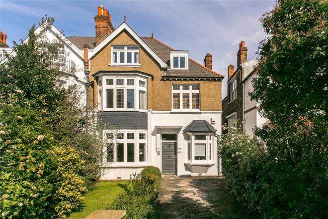 Guide Price £2,000,000, 6 Bedroom Semi Detached House For Sale in London, SW4