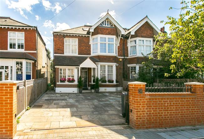 Asking Price £2,180,000, 4 Bedroom Semi Detached House For Sale in London, SW4