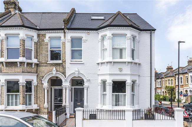 Guide Price £1,795,000, 5 Bedroom Semi Detached House For Sale in London, SW4