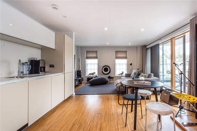 Asking Price £860,000, 2 Bedroom Flat For Sale in London, SW4