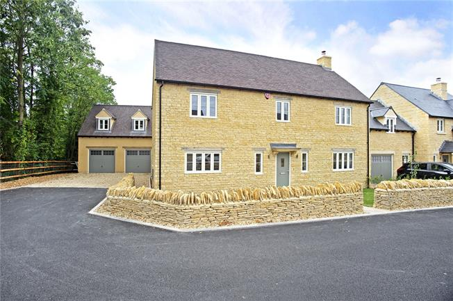 Guide Price £725,000, 4 Bedroom Detached House For Sale in Shipston-on-Stour, Warwic, CV36