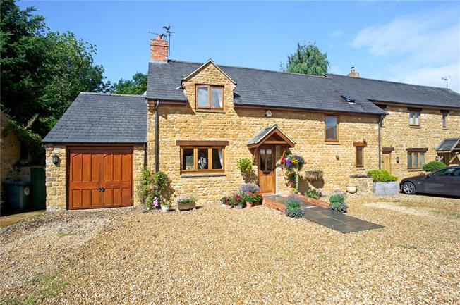 Guide Price £499,000, 3 Bedroom Semi Detached House For Sale in Milton, OX15